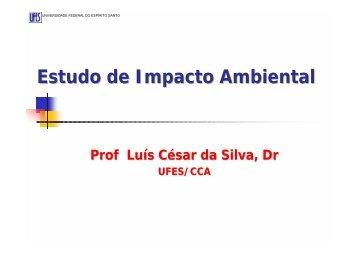 Estudo de Impacto Ambiental - AGAIS