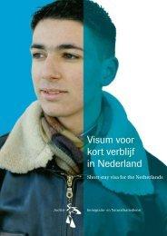 Visum voor kort verblijf in Nederland