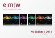 Mediadaten 2014 - w Zeitschrift für Energie, Markt, Wettbewerb