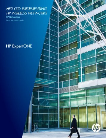 HP0-Y33: IMPLEMENTING HP WIRELESS ... - Certification Explorer