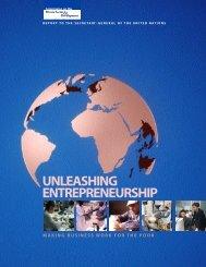 unleashing entrepreneurship - United Nations Development ...
