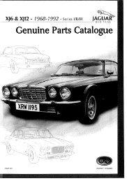 Genuine PartS Catalogue - Oldtimer Veteranen Shop