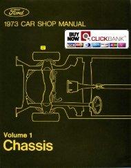 DEMO - 1973 Ford Car Shop Manual (Vol I-VI) - ForelPublishing.com