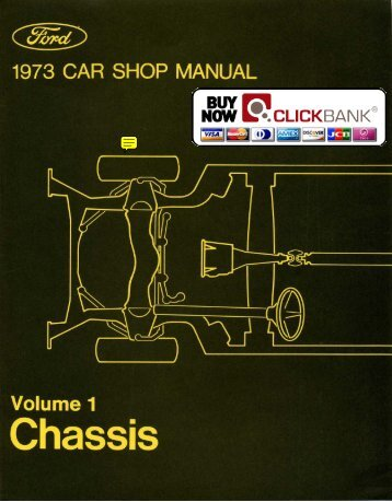 DEMO - 1973 Ford Car Shop Manual (Vol I-VI) - ForelPublishing.com