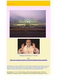 Sri Bhagavan's Darshan on 17-03-2013 Link: https://www.youtube ...