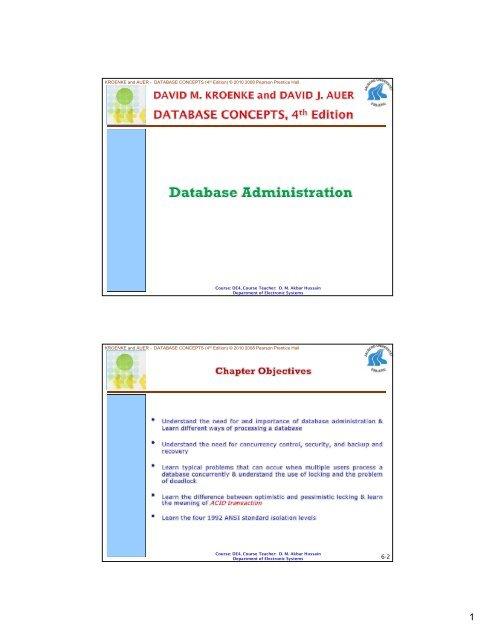 Concepts pdf database kroenke 6th edition