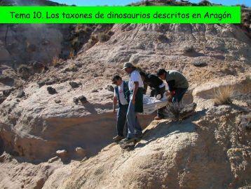 Tema 10. Los taxones de dinosaurios descritos en ... - Aragosaurus
