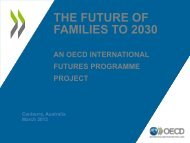 The Future of Families to 2030 - Australia and New Zealand School ...