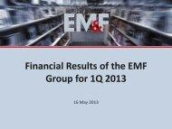 EMF Group's - Empik Media & Fashion