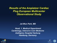 Amplatzer Cardiac Plug European Multicenter ... - St. Jude Medical