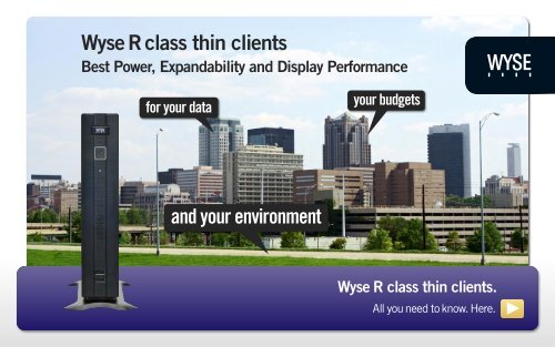 Wyse R class thin clients - Arcy Solutions, Inc