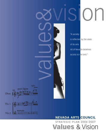 Values & Vision - Nevada Arts Council - Nevada Department of ...
