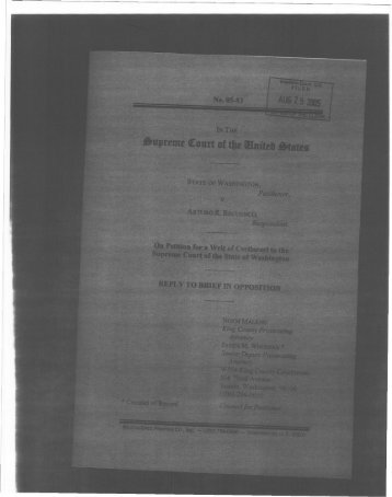 Download wa_v_recuenco_reply.pdf - Sentencing Law and Policy