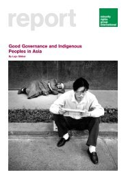 Good Governance and Indigenous Peoples in Asia - Minority Rights ...
