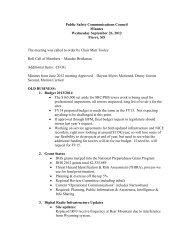 Public Safety Communications Council Minutes ... - Sdpscc.sd.gov