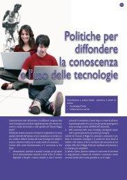 Politiche per diffondere la conoscenza e l'uso delle tecnologie