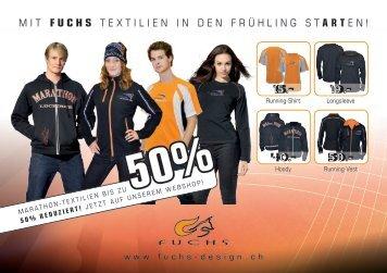 mit fuchs textilien in den frühling st art en! - Fuchs Design