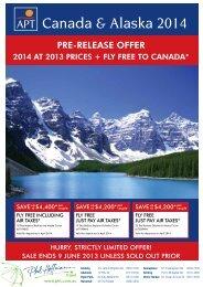 Canada & Alaska 2014
