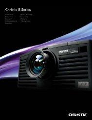 Christie E Series Brochure - Christie Digital Systems