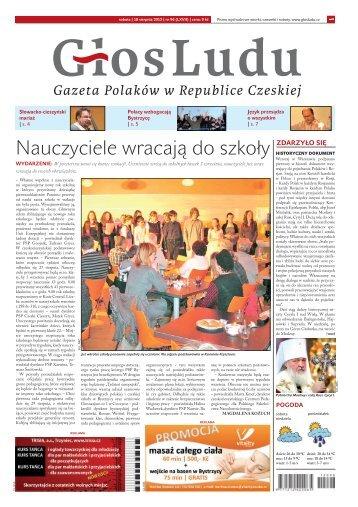 Nauczyciele wracają do szkoły - GlosLudu.cz