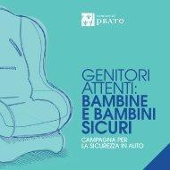 Campagna: genitori attenti, bimbi sicuri - Comune di Prato