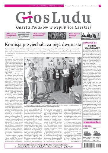 Komisja przyjechała za pięć dwunasta - GlosLudu.cz