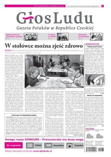 W stołówce można zjeść zdrowo - GlosLudu.cz
