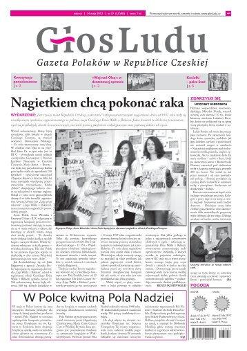 Nagietkiem chcą pokonać raka - GlosLudu.cz