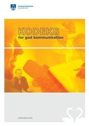 KODEKS for god kommunikation - Fredensborg Kommune