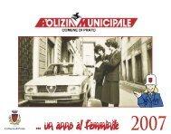 Calendario anno 2007 - Comune di Prato