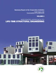 COST Action C25 Sustainability of Constructions Integrated ...