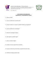 2.- ¿Cuál es la definición real de filo - Instituto Universitario y ...
