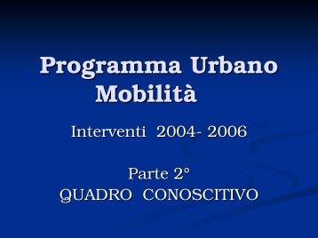 Quadro conoscitivo in formato .pdf - Comune di Prato