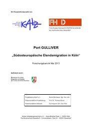 Port GULLIVER - Ministerium für Arbeit, Integration und Soziales des ...