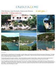 Villa Serena, near Konavle, Dubrovnik Riviera A real ... - CroatiaGems