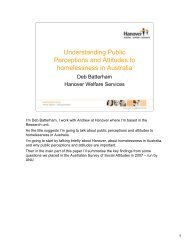 Understanding Public Perceptions and Attitudes to homelessness in ...