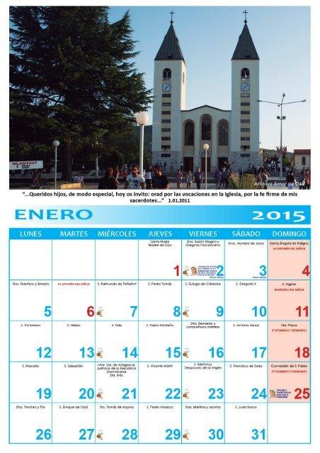 calendaro 2015 America