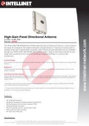 High-Gain Panel Directional Antenna