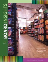 APRIL Board Insights Issue - Cal Poly Pomona Foundation