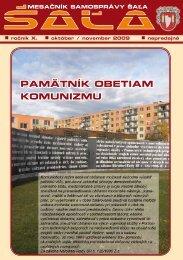 na stiahnutie (pdf - 2.97 MB) - Mesto Šaľa