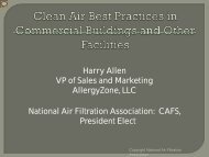 Clean Air Best Practices in Commercial Buildings and Other Facilities
