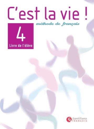 Livre de l'élève 4 Démo - Santillana Français