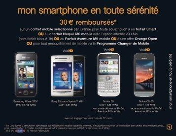 mon smartphone en toute sérénité - Orange mobile