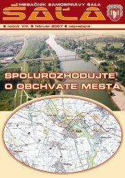 na stiahnutie (pdf - 1.25 MB) - Mesto Šaľa