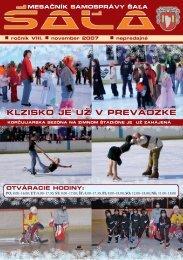 na stiahnutie (pdf - 7.16 MB) - Mesto Šaľa