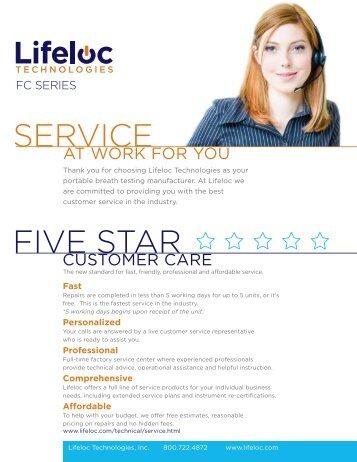 SERVICE FIVE STAR - Point of Care Diagnostics