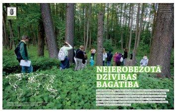 Neierobežotā dzīvības bagātība - International Biodiversity Day