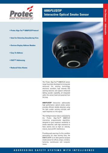 6000PLUS/OP - Black - Protec Fire Detection