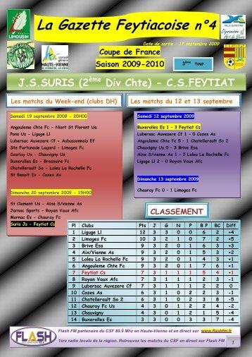 La Gazette Feytiacoise n°4 - Footeo