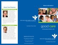 good care - Bon Secours Richmond Health System